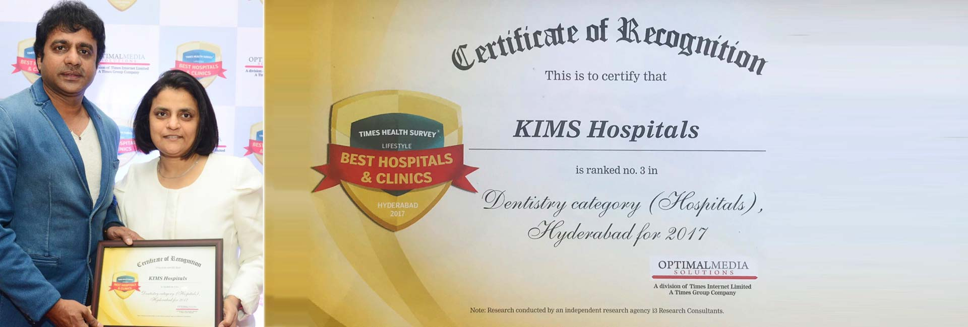 Kims dental hospital best rank in india rank 3 best dental dental clinic in Kondapur,